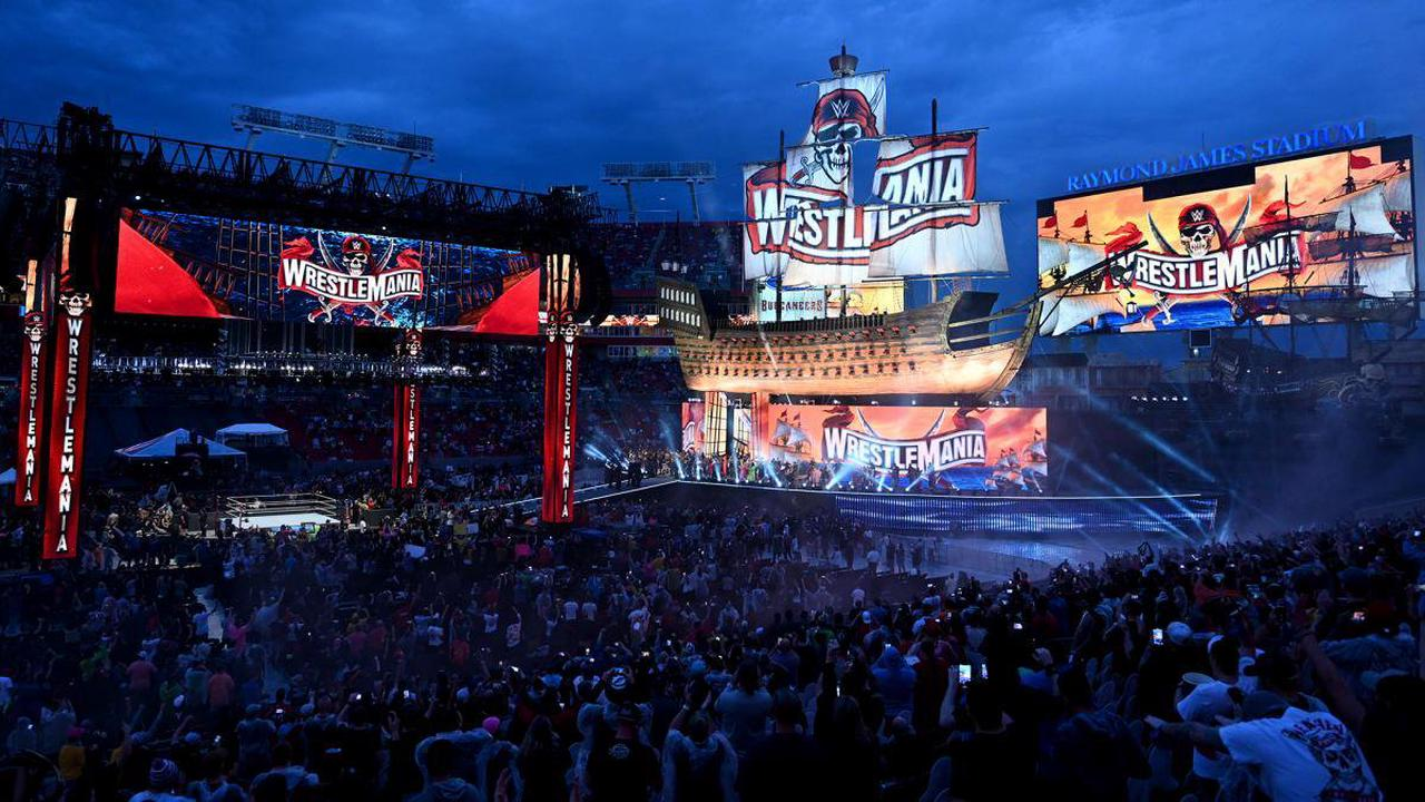 WWE WrestleMania 37 LIVE RESULTS: Night 2 weather LATEST, match card as Sunday mega-show in Tampa begins