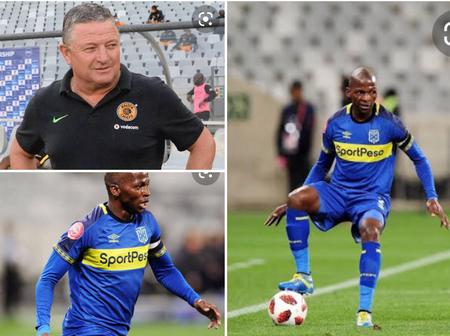 Kaizer Chiefs target another Cape Town City Star in June transfer