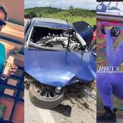 Last video of a beautiful lady who died in a car accident will make you feel sad
