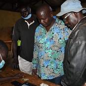 Matungu Constituency UDA Candidate Casts His Vote