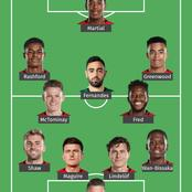 Manchester United Strong Lineup That Should Start Against Crystal Palace