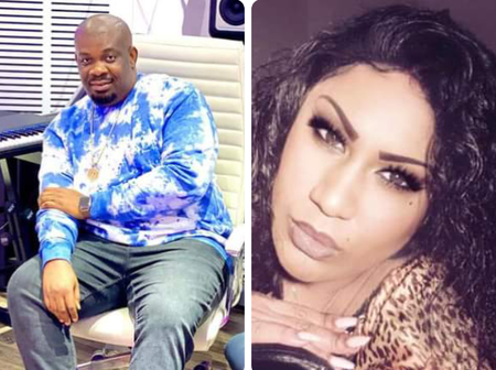 Don Jazzy's Former Wife Sends Heartwarming Message To Him, He Responds (Photos)