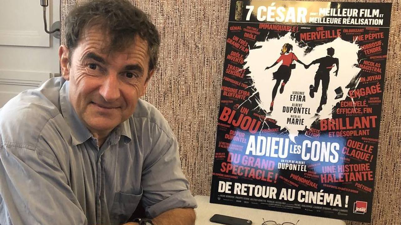 Albert Dupontel veut «retrouver la joie furieuse de faire du cinoche»