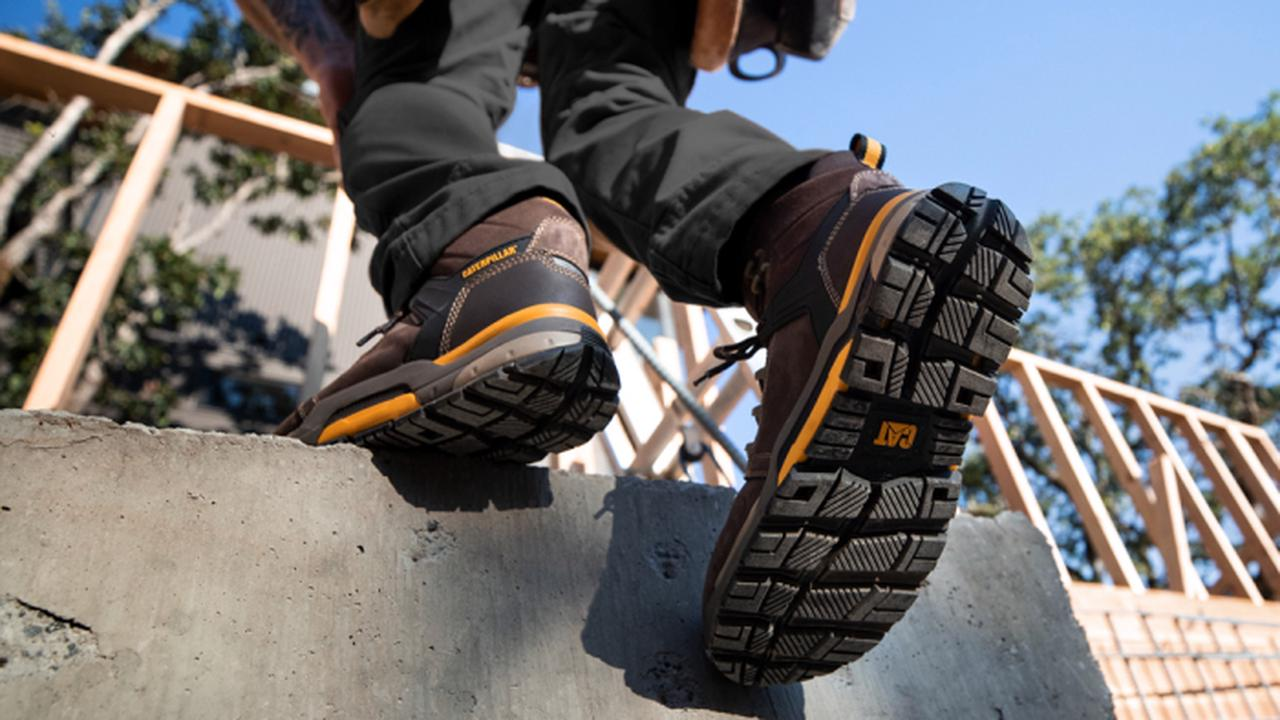 Cat Footwear Debuts a Work Boot Made to Reduce Chronic Pain