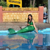 See what Indians are doing to potholes on their roads to draw the attention of the government