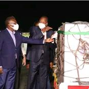Photos Of The Arrival Of The Most Precious COVID 19 Vaccine In Kenya Today (Photos)