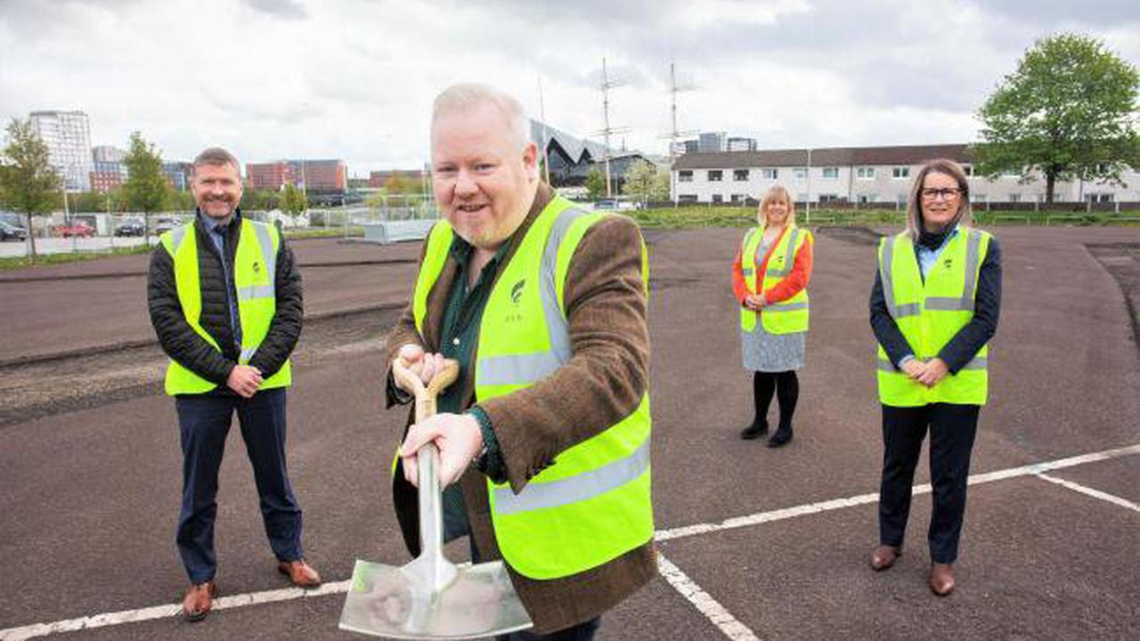 First look at £17m new homes boost at Govan's Water Row