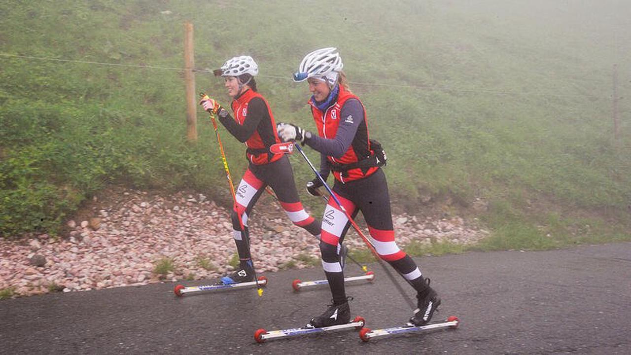 Skilangläufer im Einsatz