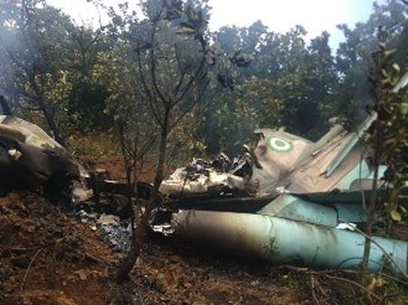 Wreckage Of Crashed NAF Fighter Jet Not Found In Bama - Nigerian Air Force