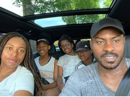 Check Out The Lovely Family Of Vincent Enyeama, The Former Nigerian Goalkeeper.