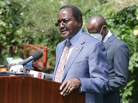Kalonzo Finally Responds to Reports of One Kenya Alliance Ejecting ODM Off BBI Process