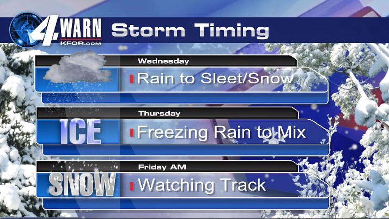 Winter Weather Wednesday, Thursday and Friday!