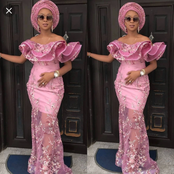 44 Gorgeous Lace Styles That Classy Ladies Can Rock To Occasions (Photos)