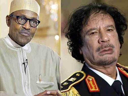 Gaddafi's Death Caused Insecurity In Nigeria - President Buhari