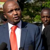 Vocal Musician Comes in Defense of Moses Kuria