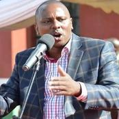Kimani Ichung'wah attacks BBI proponents few hours before the launching of signature collection