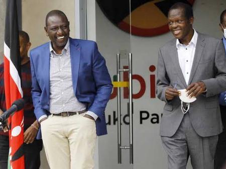 Rafael Tuju Speaks About Jubilee Reuniting With Deputy President William Ruto