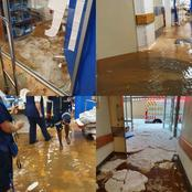 Union hospital in Alberton took some damage by the severe storm.