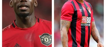 See what Pogba said to this Bournemouth Player after the match on Saturday night