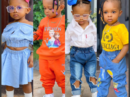 Name 1 celebrity kid who has the swag and more beautiful than Simona Osei Strong.[see photos]