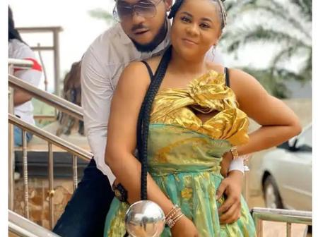 Lovely Pictures of Uju Okoli and Nonso Diobi