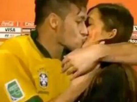 Checkout What Neymar Junior Was Seen Doing On Camera That Got Many People Talking