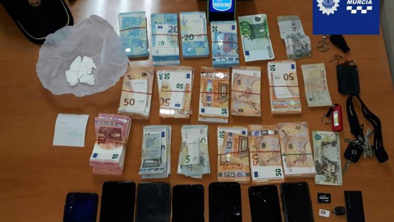 Four Young People Arrested In Murcia On Drug Trafficking Charges