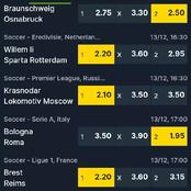 Must Win Correct Score Tips that are professionally Analysed in today matches