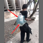 Man Who Was Seen On The Street Revealed Why He Carried This Thing On His Back, Read What He Said