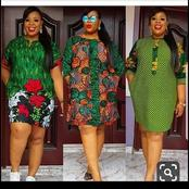 See these trendy short Ankara gowns for church