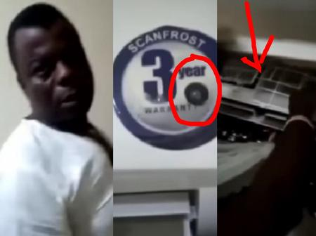 Please Be Careful! See This Video Of How A Man Discovered Cameras In Hotel Rooms In Ogun State