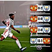Manchester United Could Win Manchester City In Manchester Derby, See Their Last 4 Fixtures