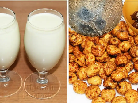 See How To Make Tiger Nut Drink This Weekend With Just N500.
