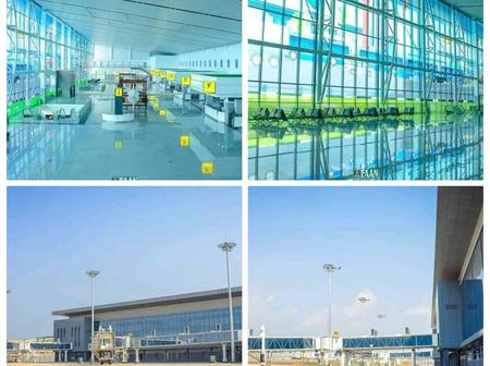 Photos: Lagos Airports New Terminal Almost Ready and Beautify With Nigeria Cultural Diversity