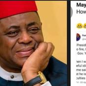 Then vs Now: Lady digs up FFK's Old Tweet on Yahaya Bello and compares it with his Latest Statement
