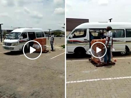 Taxi Driver from Botshabelo turn Bricks into passengers.