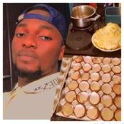 Mixed reactions as man fry 30 eggs to eat after he said you should spoil yourself sometimes.
