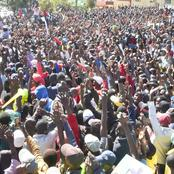 This Is Too Much Love; Photos Big Crowds Welcoming Deputy President William Ruto Today