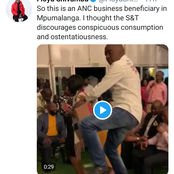 Video | Floyd Shivambu Exposes ANC Members Partying And Flaunting Money