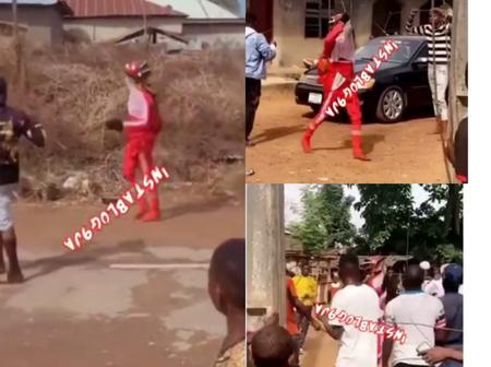 After Masquerades Were Spotted Flogging Men Mercilessly In Broad Daylight See Reason Why It Happened