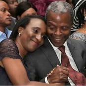 See Romantic Photos Of Yemi Osinbajo And His Beautiful Wife.