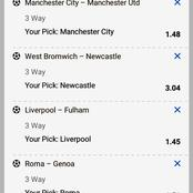 Must Win Sunday's Expertly predicted VIP Multibets With GG,Over 2.5 Goals And Correct Score