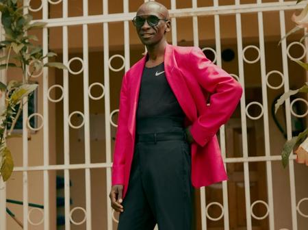Eliud kipchoge drop's Athletics for Fashion feature in GQ Magazine(pictures)