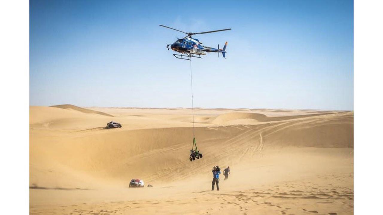 Rallye Dakar: des Haut-Alpins dans le ciel saoudien