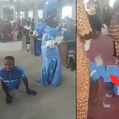 Crippled Man and Wife Came To Dedicate Their Baby In Church, But Got More Than They Expected (Pics)