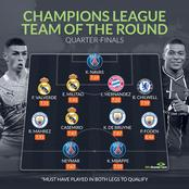 UCL Team Of The Quarterfinals: One Chelsea And Three Real Madrid Players Made The List
