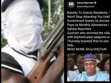 Read What Bandits Said They Will Do To Sokoto Residents Until Government Grant Them Amnesty.