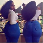 For The Love Of Curves, See Delta Big Girl That 'Rules' Instagram With Her Endowment. (Photos)