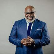 How I Discovered I am From Igbo - Popular American Preacher, T.D Jakes Reveals