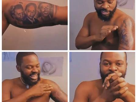 Check Out What Falz Posted Online As He Declares Self An Official Member Of The Bad Gang (Video)